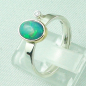 Preview: 4,23 gr Opalring, 1,00 ct Welo Opal in 18k Gold u. Diamant, Bild3