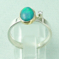 Preview: 4,23 gr Opalring, 1,00 ct Welo Opal in 18k Gold u. Diamant, Bild4
