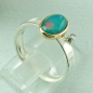 Preview: 4,23 gr Opalring, 1,00 ct Welo Opal in 18k Gold u. Diamant, Bild5