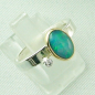 Preview: 4,23 gr Opalring, 1,00 ct Welo Opal in 18k Gold u. Diamant, Bild6