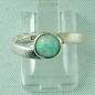 Mobile Preview: 2,63 gr Damenring, 925er Silberring mit 0,76 ct Welo Opal, Bild1