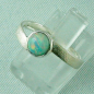 Mobile Preview: 2,63 gr Damenring, 925er Silberring mit 0,76 ct Welo Opal, Bild2