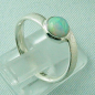 Mobile Preview: 2,63 gr Damenring, 925er Silberring mit 0,76 ct Welo Opal, Bild5