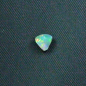 Preview: 0.43 ct White Opal Blau Grüner Multicolor Edelstein Schmuckstein