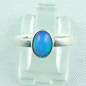 Preview: 925er Silberring Damen-Opalring mit 0,80 ct Welo Opal, Bild1