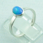 Preview: 925er Silberring Damen-Opalring mit 0,80 ct Welo Opal, Bild3