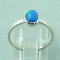 Preview: 925er Silberring Damen-Opalring mit 0,80 ct Welo Opal, Bild4