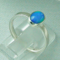 Preview: 925er Silberring Damen-Opalring mit 0,80 ct Welo Opal, Bild5