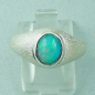 Preview: Damenring 925er Sterling Silber Opalring mit 1,36 ct Welo Opal, Bild1