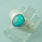 Preview: Damenring 925er Sterling Silber Opalring mit 1,36 ct Welo Opal, Bild2