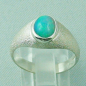 Preview: Damenring 925er Sterling Silber Opalring mit 1,36 ct Welo Opal, Bild4