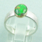 Mobile Preview: 925er Silberring mit 1,07 ct Welo Opal, 14k Goldfassung, Bild4