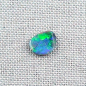 Preview: Echter Lightning Ridge Semi Black Opal 1,21 ct. aus Australien - Opale mit Zertifikat online kaufen - Multicolor Vollopal 10,54 x 8,53 x 2,31 mm-2