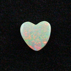 Herzform 3,50 ct White Opal Opalstein Olympic Field