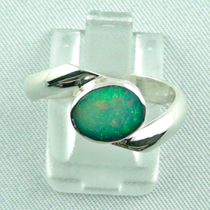 Sterling Silberring mit Top GEM Welo Opal 1,04 ct