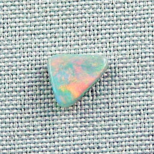 1.25 ct Lightning Ridge Semi Black Opal Multicolor Vollopal