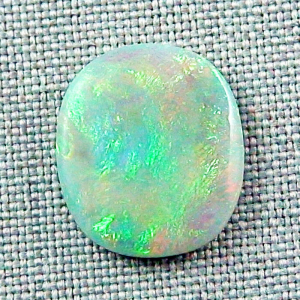 Großer 5.77 ct Lightning Ridge Semi Black Opal Multicolor Edelstein