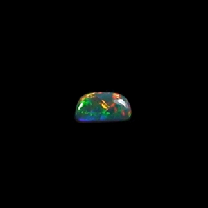 Lightning Ridge Semi Black Opal 0,69 ct Edelstein Schmuckstein