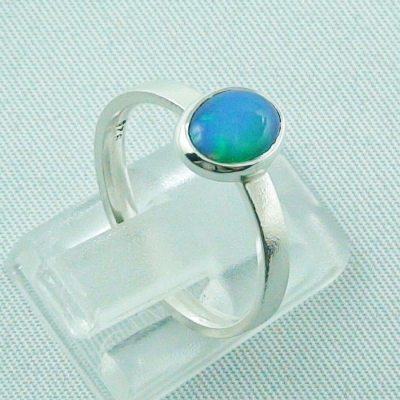 Sterling Silberring mit 0,59 ct Welo Opal - 925er Opalring, Bild5