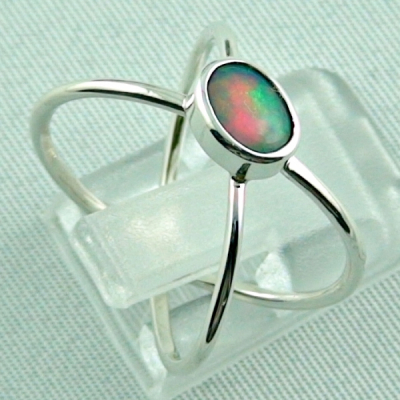 Sterling Silberring mit Top GEM Welo Opal 0,50 ct, Bild5