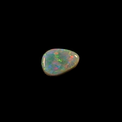 1.06 ct Semi Black Opal Multicolor Lightning Ridge Australien, Bild4